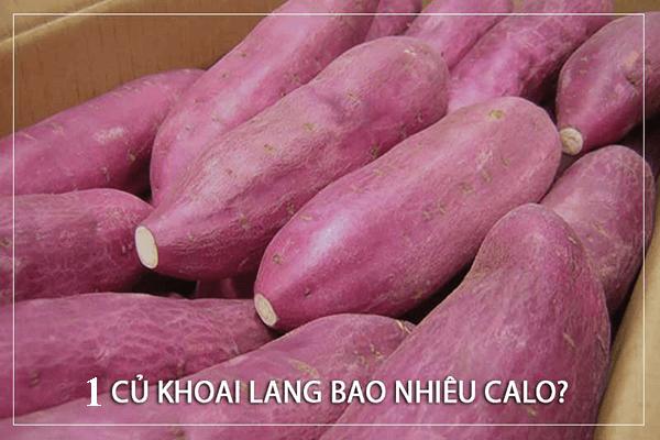 1 củ khoai lang bao nhiêu calo ? Giảm cân với khoai lang như thế nào?