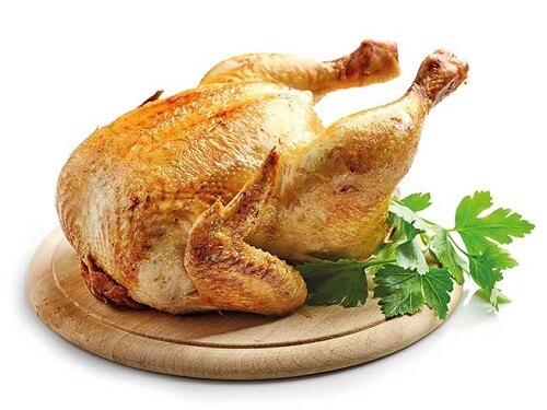 100g thịt gà chứa bao nhiêu calo, protein?
