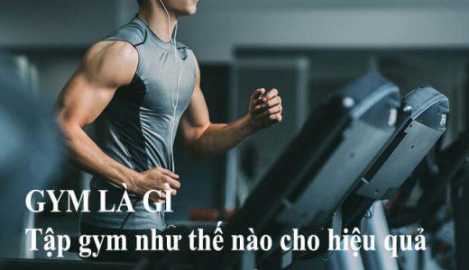 Gym là gì ? Lợi ích của việc tập gym là gì ?