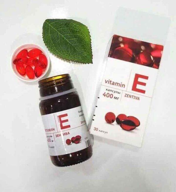 Vitamin E Đỏ? Công Dụng - Vai TRò Của Vitamin E Đỏ