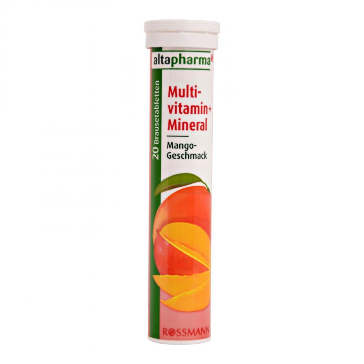 Vitamin Multi ? Công Dụng - Vai Trò Của Vitamin Multi