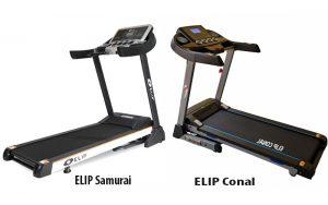 Mua máy chạy bộ điện đơn năng ELIP Samurai hay ELIP Conal tốt hơn?