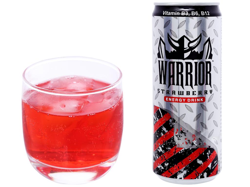 1 lon Warrior bao nhiêu calo? Uống Warrior có béo không?