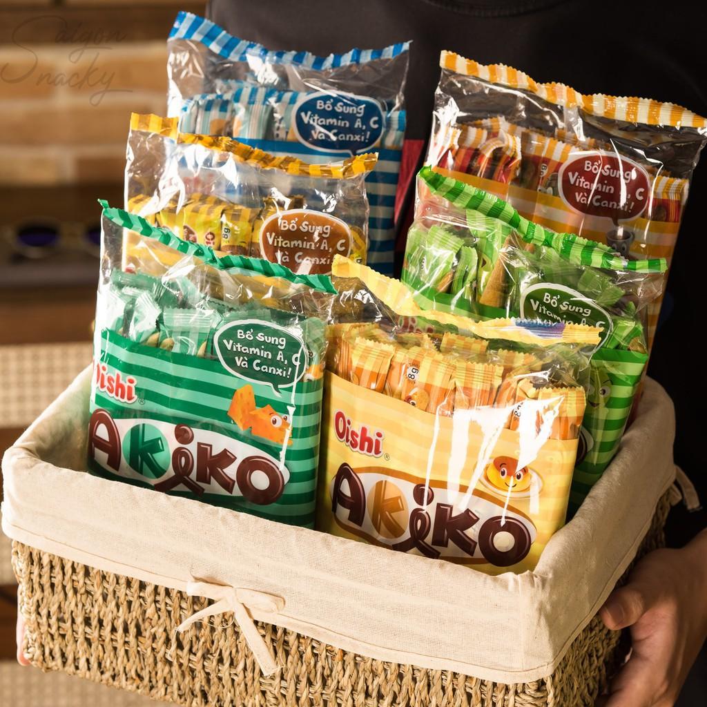 Bánh akiko bao nhiêu calo? Ăn nhiều bánh akiko có béo không?
