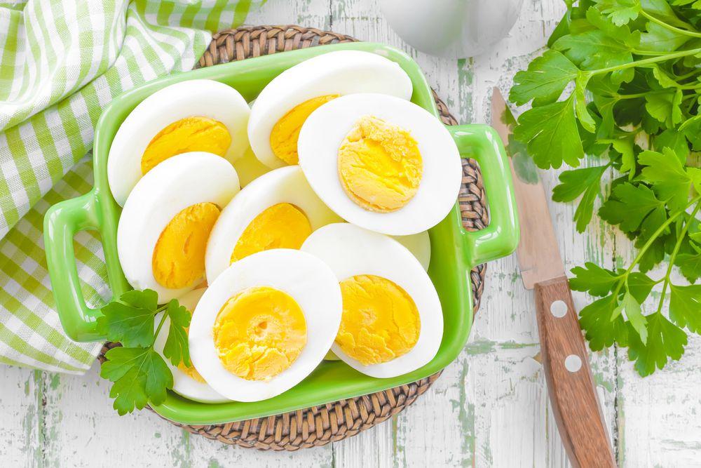 Thực đơn giảm cân trong 7 ngày với trứng