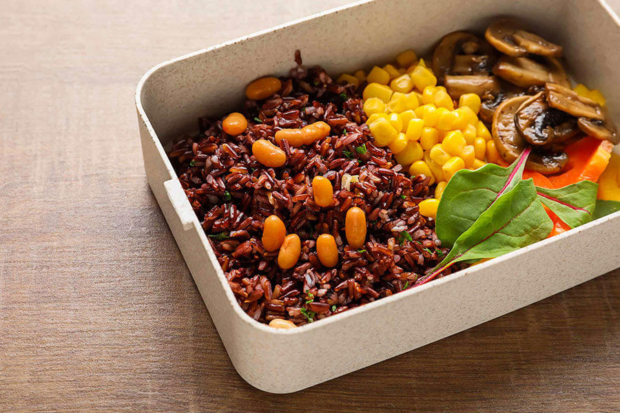 Thực đơn giảm cân với gạo lứt đúng chuẩn eat clean
