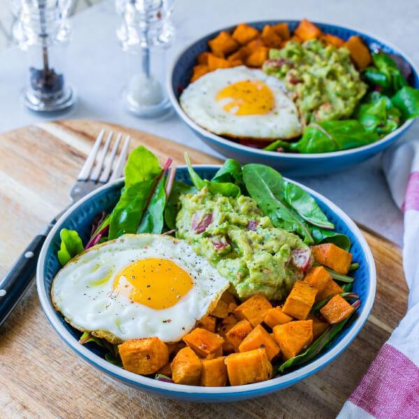 Thực đơn giảm cân với khoai lang và trứng an toàn, tiết kiệm